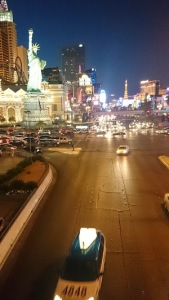 The bright lights of the infamous strip